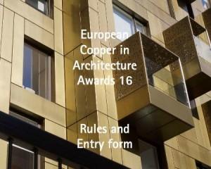 """Concorso """"Copper in Architecture Awards"""" 2013"""