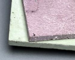 Foglio sottile in cemento con GFRC