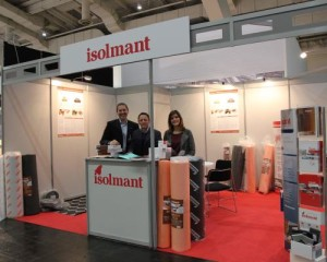 Isolmant allo stand Domotex di Hannover