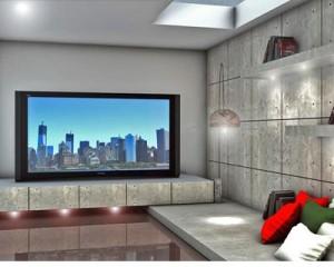 Cemento non cemento per l'interior design