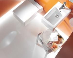 Il bagno di servizio, luogo di benessere