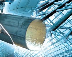 Utilizzo della tecnologia laser nelle strutture in acciaio