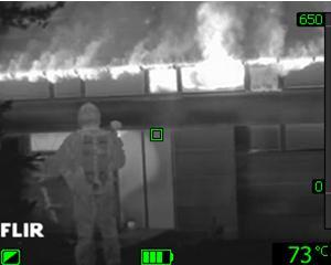 Termocamere palmari FLIR SYSTEMS per applicazioni antincendio