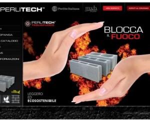 Online il nuovo sito Perlitech, blocchi ad elevate prestazioni
