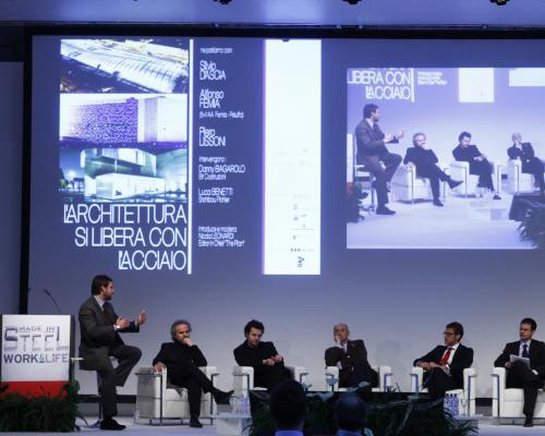 """Cosa è emerso dalla conference """"L'architettura si libera con l'acciaio""""?"""