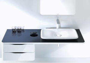 Black and white per il bagno di design 1