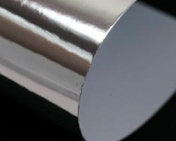 Cartone metallizzato con finitura a specchio - Alluminio lucidato a specchio ...