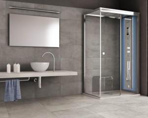Nuovo concept di cabine doccia Aquadesign
