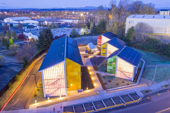 Argyle Gardens: gli alloggi di transizione modulari e accessibili di Portland