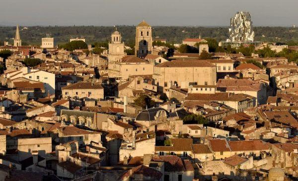 Arles skyline