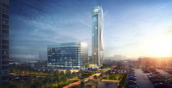 Ad Atlanta la nuova sede centrale americana di thyssenkrupp Elevator e la torre collaudo ascensori