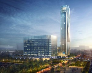 Ad Atlanta la torre di collaudo ascensori più alta d'America