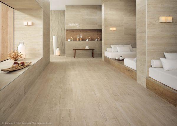 Pavimenti Axi in gres porcellanato con effetto legno vissuto