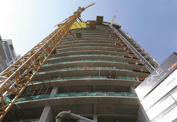 Realizzazione del grattacielo