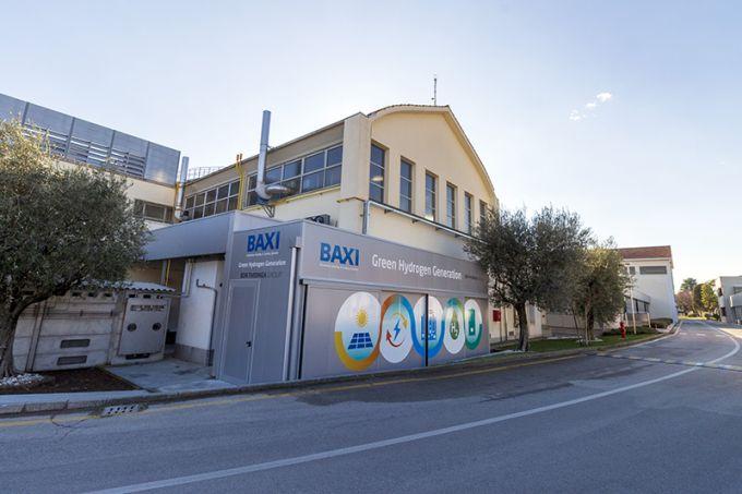 In Veneto sorge lo stabilimento Baxi dedicato alla ricerca e sviluppo di caldaie 100% idrogeno