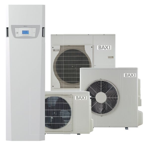 BAXI pompa di calore PBS-i FS SLIM, compatta e ad alta efficienza