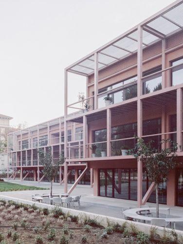 Riqualificazione della Scuola Enrico Fermi dello studio BDR Bureau, a Torino vince il premio Giovane Talento dell'Architettura italiana 2019