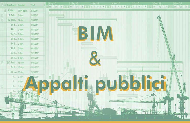 Il BIM e l'edilizia 4.0 nel settore degli appalti pubblici