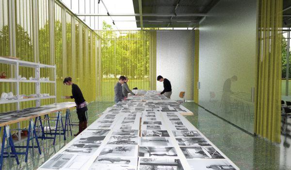 Buahaus Museum Dessau, interno