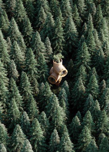 Bert, La casa sull'albero modulare che assomiglia ai Minions