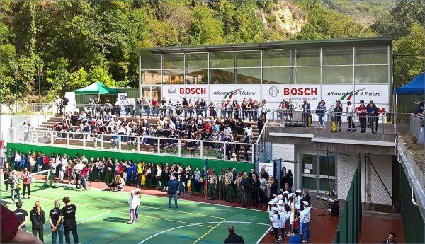 Betafence, Parapetto Fisso Trasparente, Centro Sportivo di Acquasanta (TE)