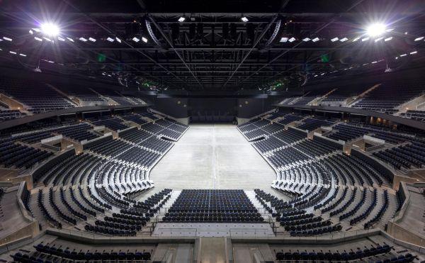 La Royal Arena ospita fino a 16.000 spettatori