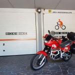 Il garage in Trentino per le macchine e per le bici