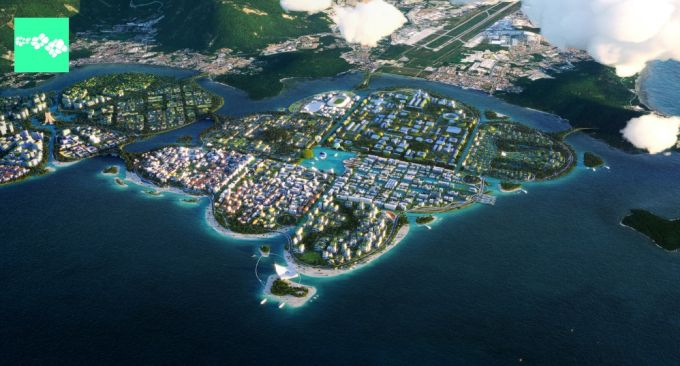 Biodivercity in Malesia, L'isola di The Channels