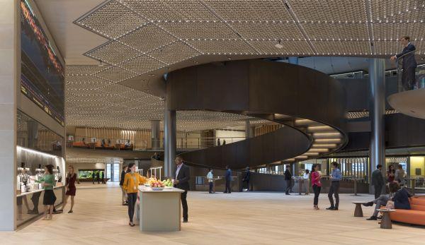 Il nuovo headquarter Bloomberg di londra