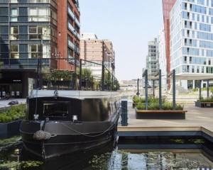 Boathouse London: l'albergo galleggiante dallo stile elegante e minimalista