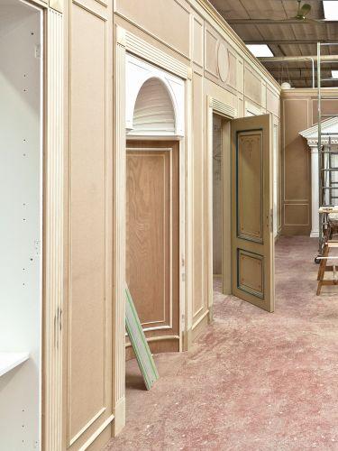 Ogni dettaglio è curato minuziosamente dagli artigiani di Turati Boiseries.
