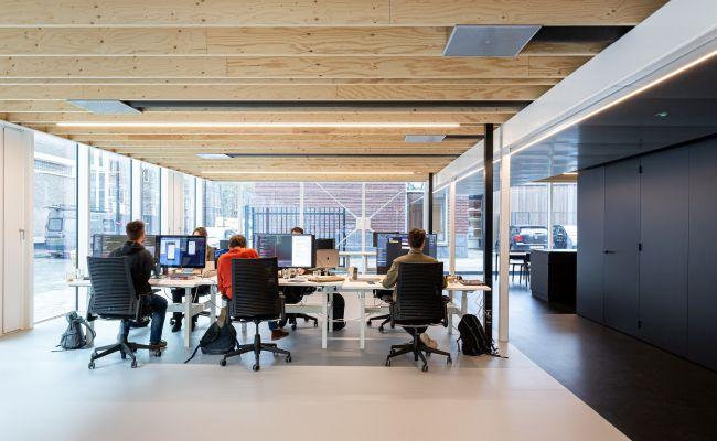 Building D(emountable), spazi interni dedicato al coworking