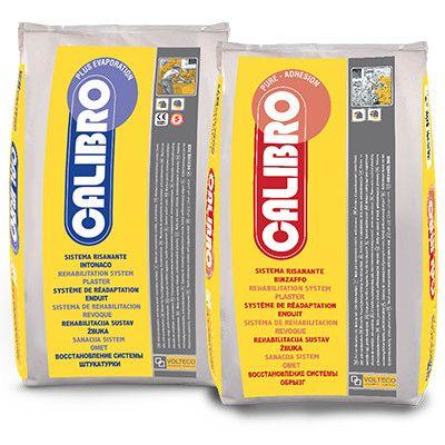 Calibro Plus Evaporation di Volteco è un sistema per realizzare intonaci