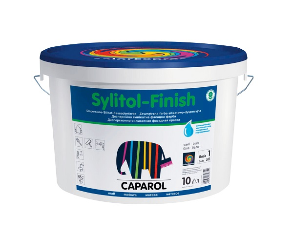 Sylitol Finish - pittura ai silicati di potassio