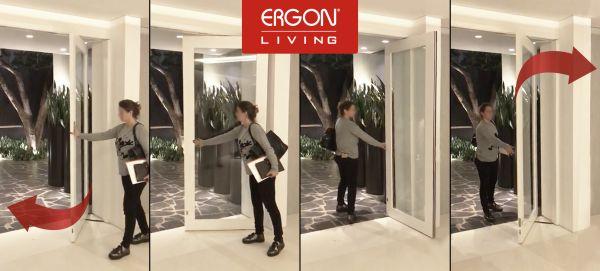 CELEGON - Installazione sistema di apertura porte Ergon Living  in Brasile