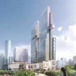 Una micro-city fatta di grattacieli sottili nel cuore di Shenzhen