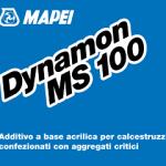 DYNAMON MS 100: ADDITIVO PER CALCESTRUZZI CONFEZIONATI