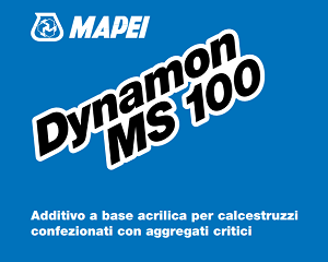 DYNAMON MS 100: ADDITIVO PER CALCESTRUZZI CONFEZIONATI