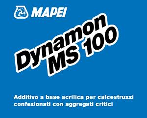 Additivo per calcestruzzi confezionati DYNAMON MS 100