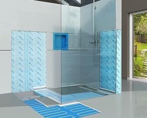 Proshower System: sistema di scarico per il deflusso dell'acqua del piano doccia
