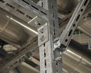 Per il sostegno dei carichi più elevati c'è CENTUM®, il sistema modulare di staffaggio