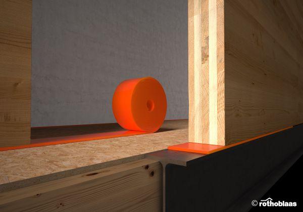 Sistemi Rothoblaas per l'isolamento acustico delle strutture in legno