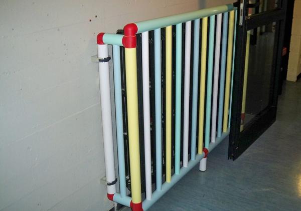 Copritermosifone ignifugo in PVC per scuole e asili di Giwa