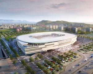 Cagliari calcio, firmato l'accordo per il nuovo stadio