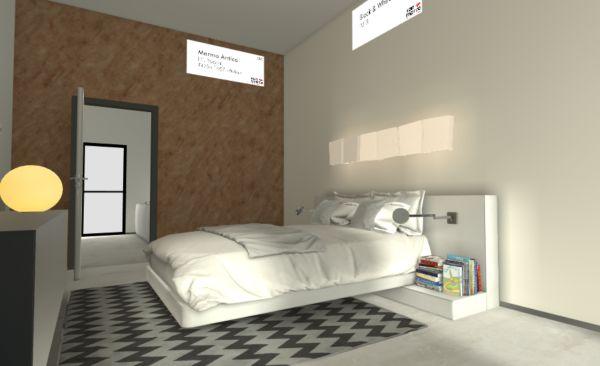 Da San Marco la realtà virtuale per scegliere i colori più adatti per la camera da letto
