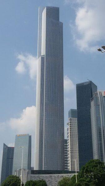 Grattacielo Guangzhou CTF Finance Centre, Canton