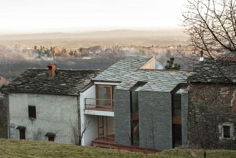 Casa di mezza montagna progetto