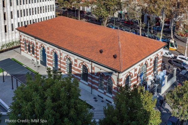 La Centrale dell'Acqua di via Cenisio a Milano