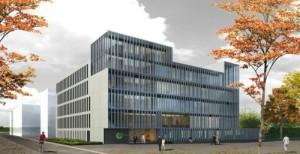 Piuarch per un edificio che ridisegna anche lo spazio urbano 1