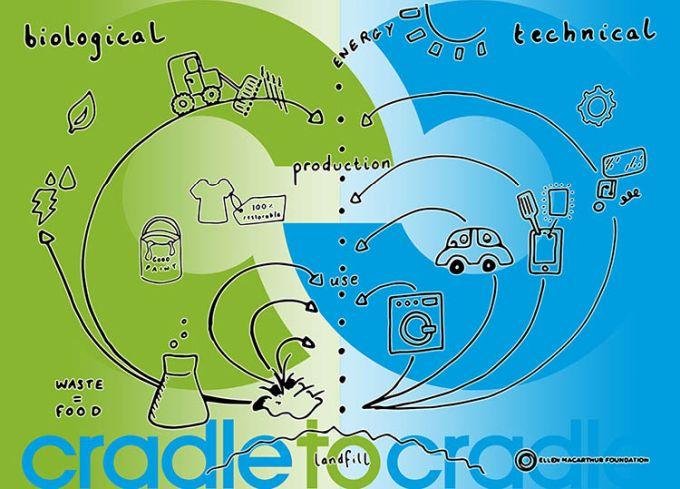 """Economia circolare """"Cradle to Cradle"""": dalla culla alla culla"""